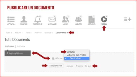 Pubblicare un documento
